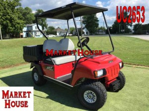 UC2653 - 2016 CLUB CAR XRT-800 GAS UTILITY CART